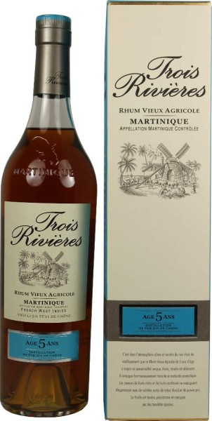 Trois Rivieres Rum Reserve Speciale 5 Jahre 0,7 l