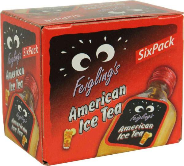 Kleiner Feigling American Ice Tea 6 x 0,02 Liter
