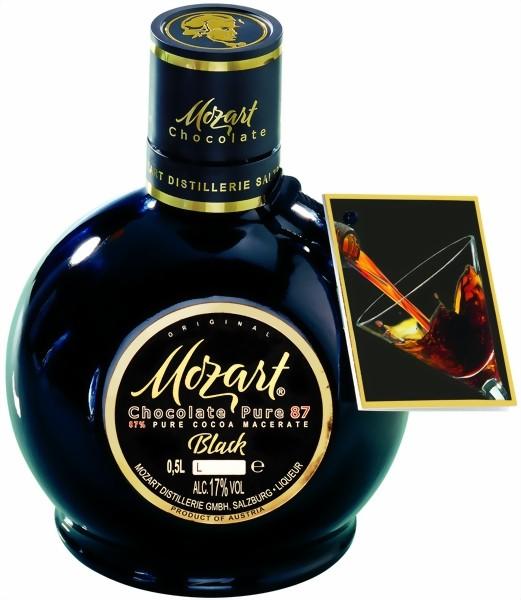 Mozart Chocolate Cream Liqueur Black 0,5 l