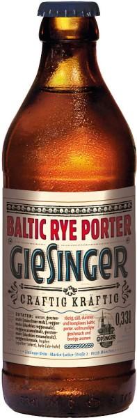 Giesinger Craft Baltic Rye Porter 0,33 l
