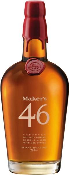 Makers Mark 46 Bourbon Whisky 0,7l