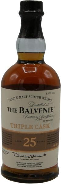 Balvenie Whisky Triple Cask 25 Jahre 0,7l