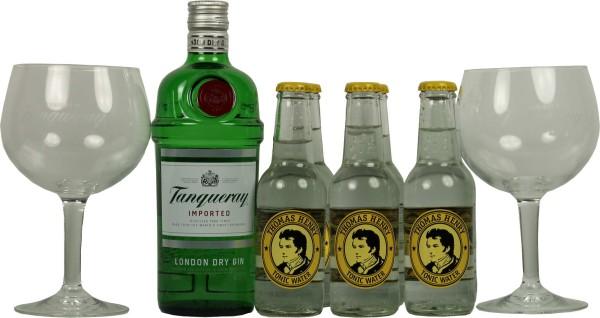 Tanqueray Gin Tonic Gläser Set