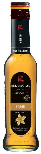 Riemerschmid Barsirup Vanille 0,25 Liter