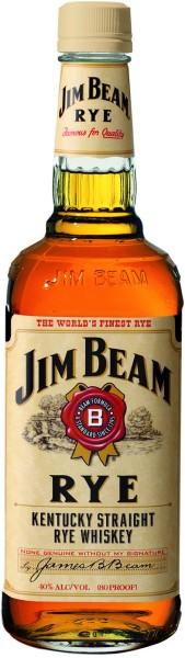 Jim Beam Rye Kentucky Straight Bourbon Yellow Label