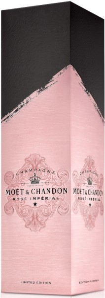 Moet & Chandon Champagner Rosé Imperial 0,75l in Geschenkpackung Edition 2020
