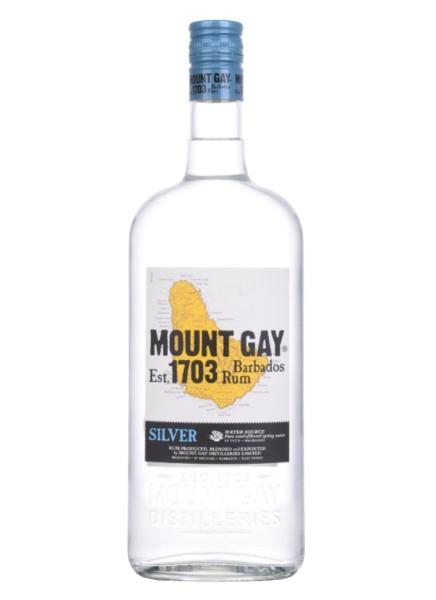 Mount Gay Rum Silver 1 Liter