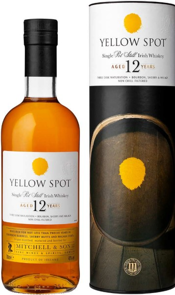 Yellow Spot Whiskey 12 Jahre 0,7l