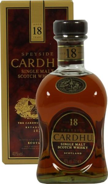 Cardhu 18 yrs.