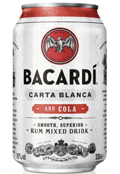 Bacardi Cola Dose