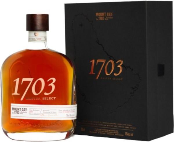 Mount Gay 1703 Master Select 0,7l