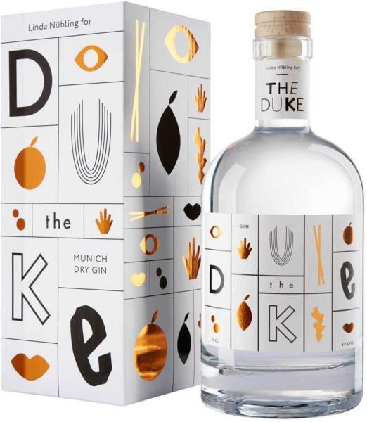 The Duke Gin Kunstedition Kupfer Weiß 0,7 Liter