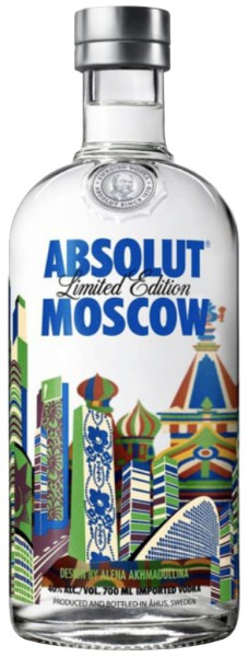 Absolut Vodka Moscow Limited Edition