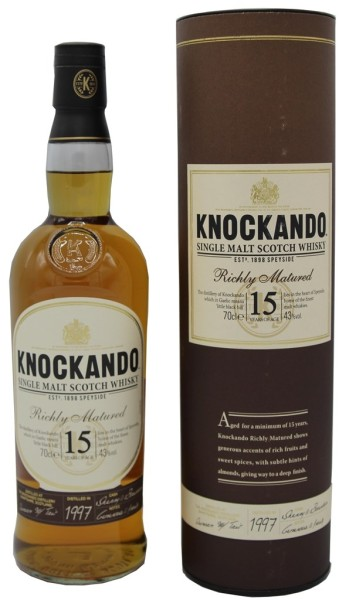 Knockando Whisky 15 Jahre Richly Matured 1997 0,7l