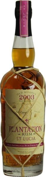 Plantation St. Lucia Old Reserve Rum 0,7l - 10 Jahre