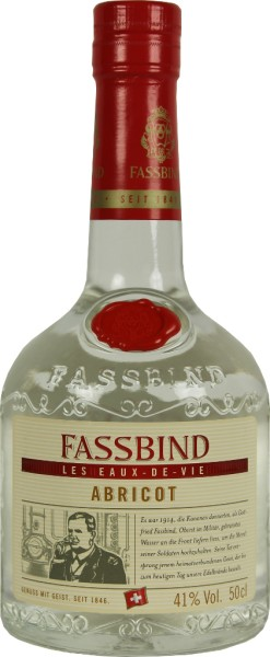 Fassbind Fine Eaux de Vie Abricot 0,5 Liter