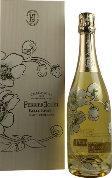 Perrier Jouet Champagner Belle Epoque Blanc de Blancs 2004 0,75 Liter in Holzkiste