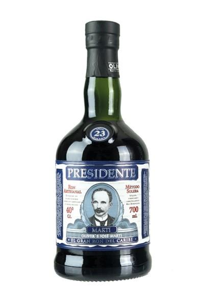 Ron Presidente Martí 23 Solera 0,7 l
