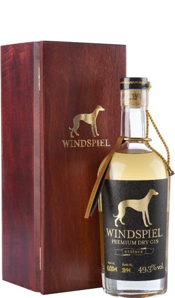 Windspiel Reserve Gin 0,5l mit Holzkiste