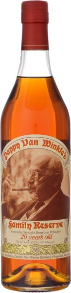 Pappy van Winkles Family Reserve 20 Yrs. 0,7l