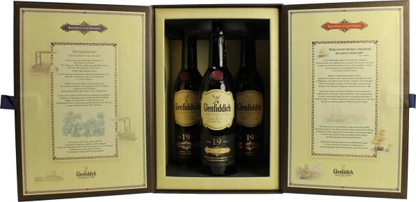 Glenfiddich Whisky 19 Jahre Triplepack 3 x 0,2l