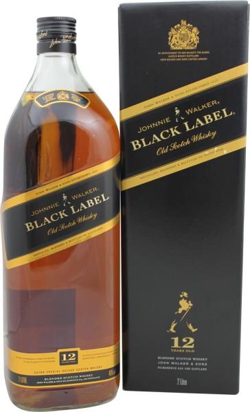 Johnnie Walker Black Label 2Liter