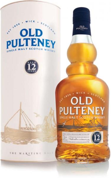 Old Pulteney Whisky 12 Jahre in Geschenkverpackung