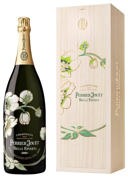 Perrier Jouet Champagner Belle Epoque 3l in Holzbox
