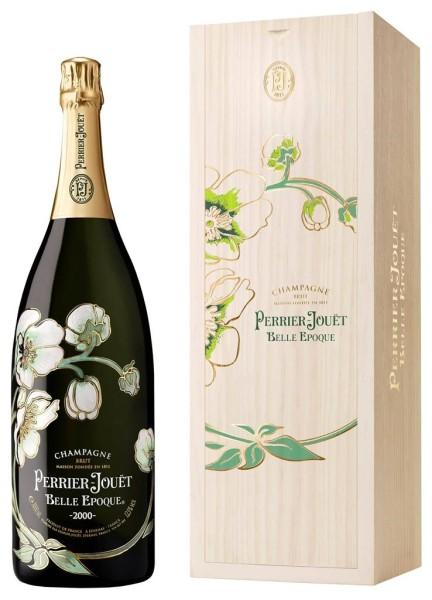 Perrier Jouet Champagner Belle Epoque 3 Liter in Holzbox