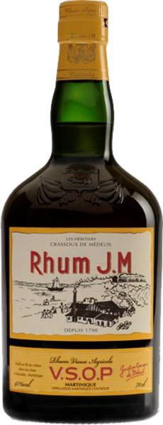 J.M Rum Agricole VSOP 0,7 l