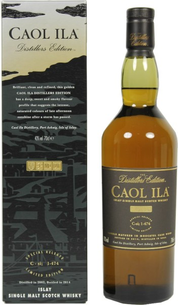 Caol Ila Whisky Distillers Edition 2008/2020 0,7l