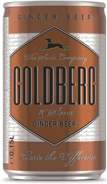 Goldberg Ginger Beer 0,15l Dose