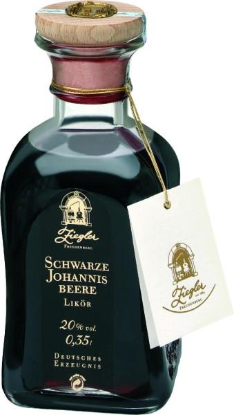 Ziegler Schwarze Johannisbeere Likör 0,35 l