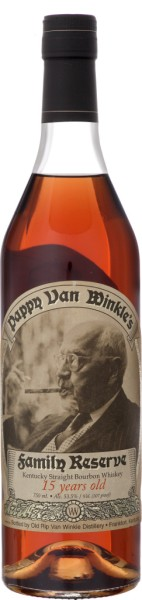 Pappy van Winkle's Family Reserve 15 Yrs. 0,7l