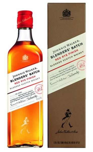 Johnnie Walker Whisky Red Rye 0,7l
