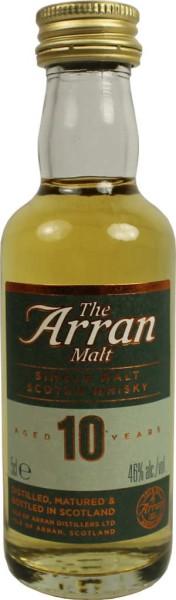 The Arran Whisky 10 Jahre Mini 5cl