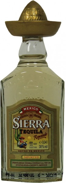 Sierra Tequila Gold 4cl