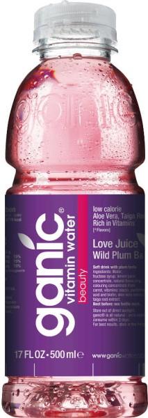 Ganic Wasser Love Juice Wild Plum