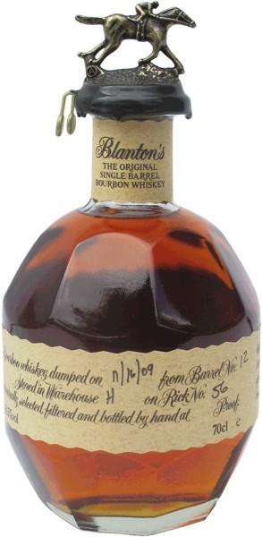 Blantons Bourbon Whiskey Original 0,7l