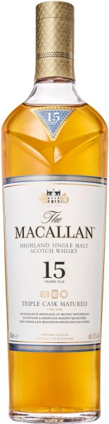 The Macallan Whisky Triple Cask 15 Jahre 0,7l