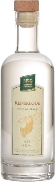 Number Nine Obstbrand Reneklode unfiltriert 0,5l
