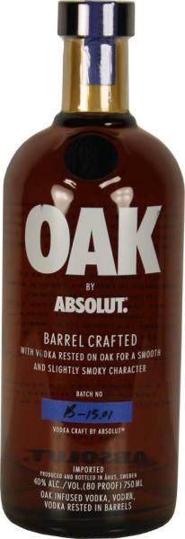 Absolut Oak 0,75l