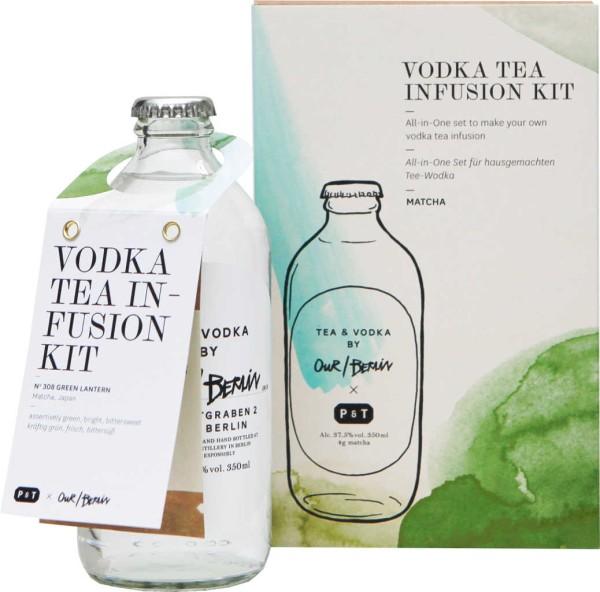Our Berlin Vodka Green Lantern Tea Infusion 0,35l