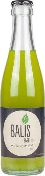 BALIS Basil Basilikum Ingwer Drink 0,25 l