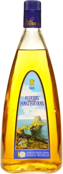 Mari Mayans Hierbas Ibicencas Likör Mini 0,1 l