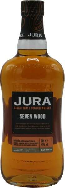 Isle of Jura Whisky Seven Wood 0,7l
