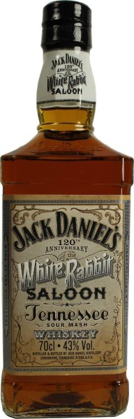 Jack Daniels Whiskey White Rabbit Saloon 0,7 l