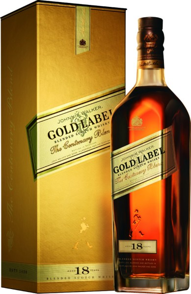 Johnnie Walker Whisky Gold Label 18 Jahre 0,7l