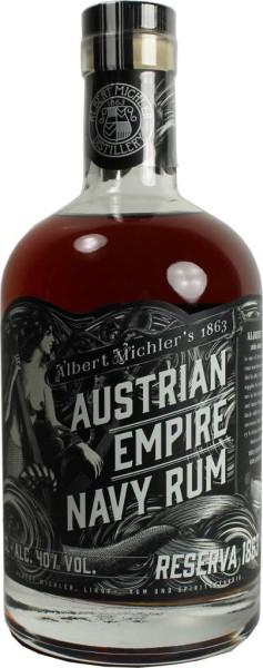 Austrian Empire Navy Rum Reserve 1863 0,7 l