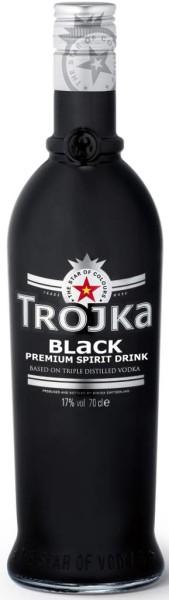 Trojka Vodka Black 0,7 l